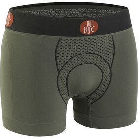 FOR.BICY Urban Life Gevoerde Boxershorts Heren, sage green/anthracite